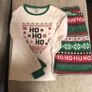 Children's place Christmas pajamas